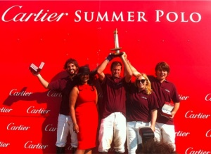 Busy Dutch polo weekend: The Orange Cup and Cartier Summer Polo.
